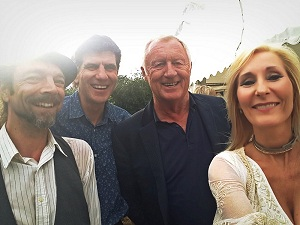 The Stories with Chris Tarrant, Lechlade-on-Thames, July 2018.